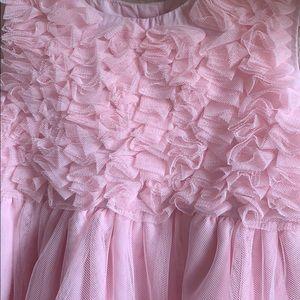 Carter's 3T Pink Sateen Sleeveless Dress